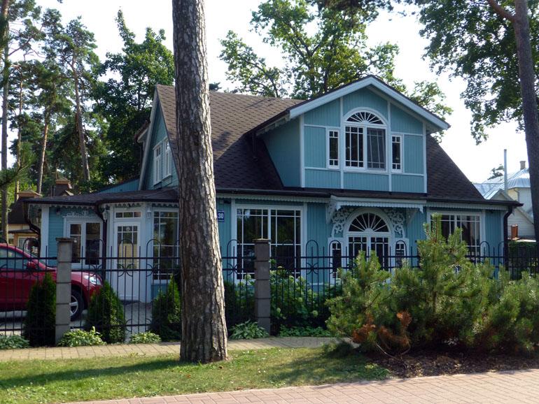 casita azul de jurmala