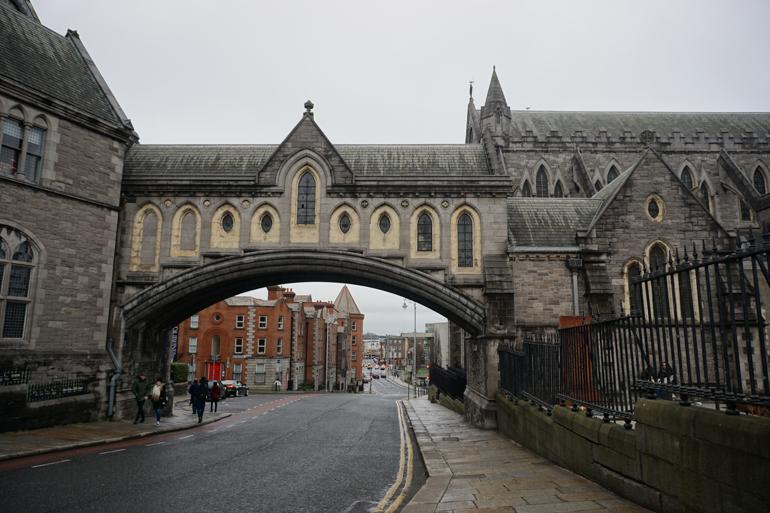 Puente de la catedral de Dublin