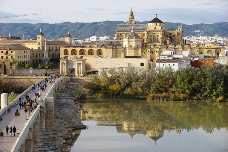 vistas de córdoba desde la torre calahorra